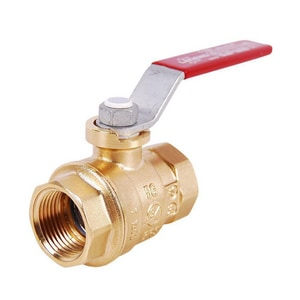 Legend Valve & Fitting T-1100NL 1/2 in. Forged Brass Full Port FNPT 500# Ball Valve L101503NL