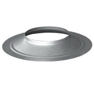 M&G Duravent 4 in. Type B Oval Storm Collar MGD4GWSC