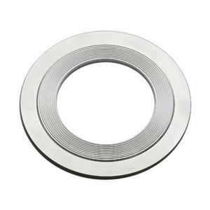 Lamons Gasket 10 in. 300# Carbon Steel and Plastic Spiral Wound Gasket LSQAOG100EGDSG