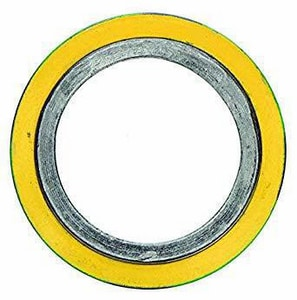 Lamons Gasket 4 in. 600# Flexible Graphite and Stainless Steel Gasket LSCSIBHSI