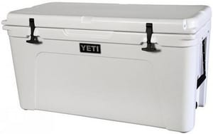 Yeti Coolers 65 qt Cooler Roadie in White YYT65