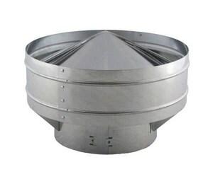 Triangle Metal & Manufacturing 4 in. Galvanized Aerofoil Gravity Vent TAFL4