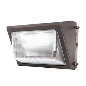 Global Equipment Company Inc Cascade 50W LED Wall Pack Light in Bronze GWBB2236943