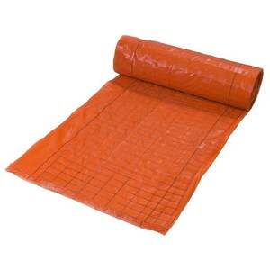 Mike's Products 100 ft. Silt Fence with Wire in Orange MWSP48OR