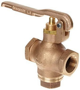 FC Kingston 3/4 in. Brass Quick Opening Industrial Flow Control Valve K305B51
