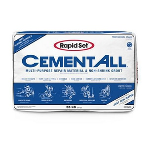 CTS Cement 55 lbs. Rapid Set Cement Multipurpose Grout CRSCAG