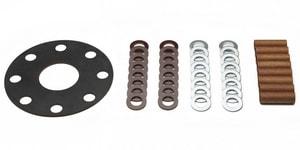 Georg Fischer Central Plastics 12 in. Flange Insulation Kit DFK12