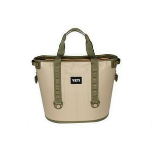 Yeti Coolers Portable Cooler in Tan and Blaze Orange YYHOP40T