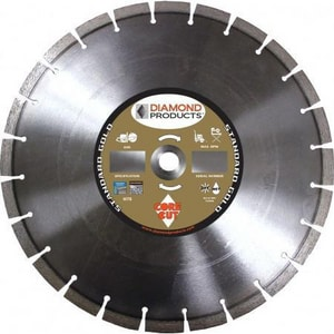 Diamond Products 1 in. Dry High Speed Concrete Blade D57721