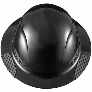 Lift Safety Fiber Hard Hat in Matte Black LHDF15KG