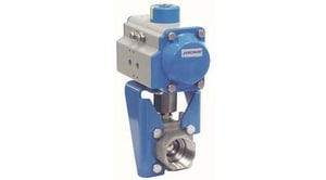Metso Automation Series 4000 3/4 in. Carbon Steel Standard Port NPT 2000# 3 piece Ball Valve with PTFE Seat J4ABTG2236TTB1F