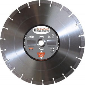 Diamond Products 1 in. Delux-Cut High Speed Diamond Blade D50537