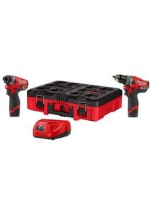 Milwaukee® M12 FUEL™ Cordless 120V 2-Tool Combo Kit M259822PO