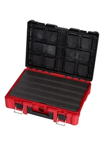 Milwaukee PACKOUT™ 20-59/100 x 14-21/25 in. Polymer Tool Case with Customizable Foam Insert M48228450