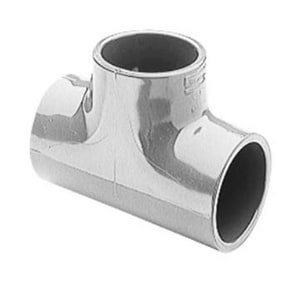 3 x 3 x 2-1/2 in. Socket Reducing Schedule 80 PVC Tee S801339