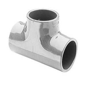 3/4 x 3/4 x 1/2 in. Socket Reducing Schedule 80 PVC Tee S801101