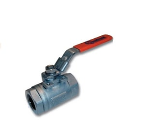 Quadrant Valve & Accuation 1 in. 316 SS Carbon Steel and Stainless Steel Reduced Port FNPT Ball Valve QSBRCSRGSLTTG