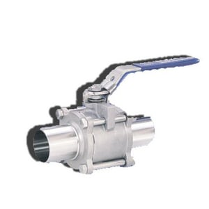 317F Series 1 in. 316 Stainless Steel Tube 1000# Ball Valve I317FA6366MMOO2S