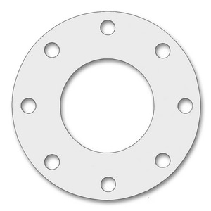 Draco Mechanical Supply Blue-Gard® Style 3000 8 x 0.0625 in. 150# PTFE and NBR Full Face Gasket D1503000FFGX116