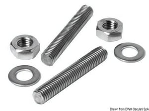 3 in. 316L Stainless Steel Studding Kit MSS316SKP