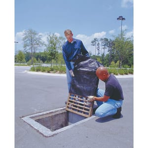 Ultratech International 24 x 48 x 4 in. Inlet Grate Guard for 9281-SED Manhole and Round Grate U9278OS at Pollardwater