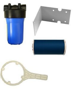 Water Tec International 10 in. Filter Kit with Bracket WFCS1075NF
