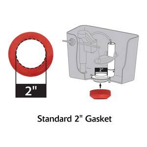 Korky Korky® Plastic-Rubber Tank Flush Valve Kit with Flapper L4030PK