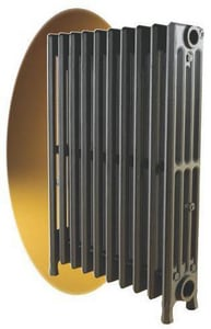 Governale Gov-Free™ 7 in. 4 Section 6 Tube Freestanding Cast Iron Radiator GFSR4625