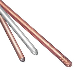 Thomas & Betts 8 ft. Copper Grounded Rod T5008