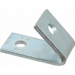 Inventory Sales Company 1-5/8 in. 58 lbs. 2-Hole Plated 45 Degree Closed Angle Fitting II3121