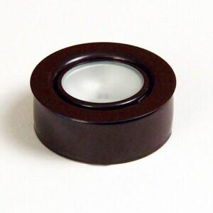 GM Lighting 1-Light Xenon Puck Light in Bronze GXP20BZ