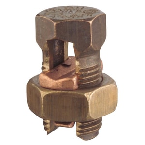 Thomas & Betts 25/32 in. Bronze Alloy Split Bolt Connector T9H