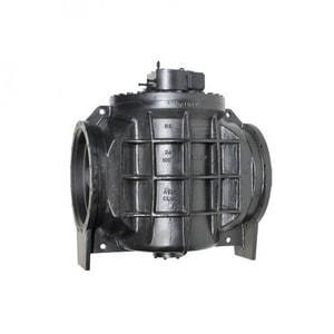 Milliken Valve Millcentric® 3 in. Ductile Iron Flanged Plug Valve 250# M602N0MGHWBALM