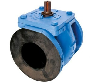Series 601 10 in. Cast Iron 175 psi Flanged Wheel Handle Plug Valve M601NAG10
