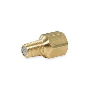 Weksler Instruments 1/4 in. 1500 psi IPS Bronze Air/Gas Pressure Snubber WG41