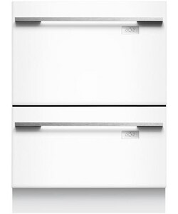 Fisher & Paykel Appliances DishDrawer™ 23-13/16 in. Tall Double Drawer Dishwasher in Brushed Stainless Steel FDD24SUT7