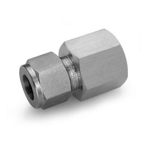 Ham-Let Valves & Fittings One-Lok™ 1/2 in. Compression x FNPT 316 Stainless Steel Connector H766HLSSDD
