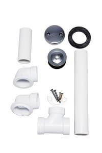 PROFLO® PFWO300 Series Plastic Lift & Turn Drain in Polished Chrome PFWO304
