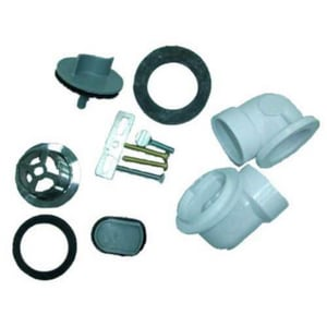 PROFLO® PFWO500 Series 1- 1/2 in. Waste and Overflow PVC Schedule 40 Rough Inlet Kit PFWO500