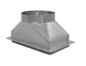 Cody Company 6 in Duct Square-To-Round COD60210UU