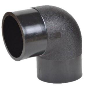 B & D Mfg. 1 in. Socket Fusion Straight Plastic 90 Degree Elbow BSPEU55