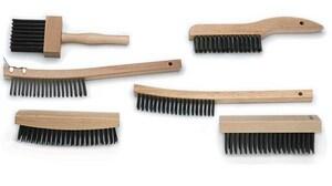 Mill-Rose 14 in. Bent Handle Scratch Brush with Scraper M70560