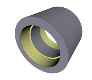 Georg Fischer Corporation 2 in. Socket Plastic Coupling F829020F