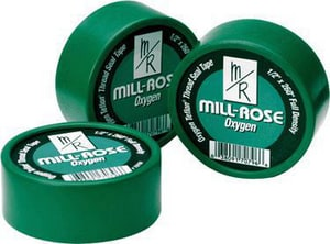 Mill-Rose 1/2 in. x 260 ft. PTFE Tape in Green M70850