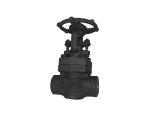 Neway Valve G8NA8 1-1/4 in. Forged Steel Full Port Threaded Gate Valve NG8NA8H