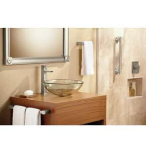 Moen 90 Degree™ Two Handle Widespread Bathroom Sink Faucet in Polished Chrome MTS6730