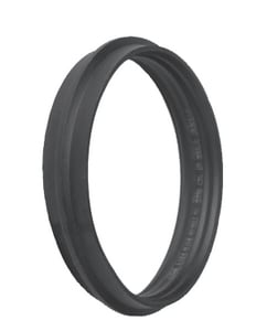Indiana Seal 12 in. Manhole Adapter in Black IMA120