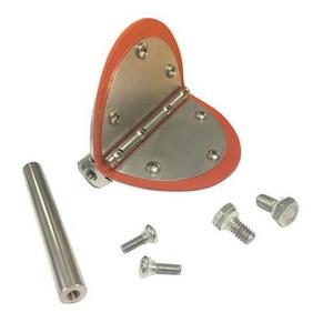 Flexi Hinge Valve Company 1-1/4 in. Aluminum and Silicone Valve Repair Kit F125IRK330