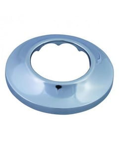 Plumbing Products Sure Grip 1 in. Metal Shallow Box Escutcheon in Chrome PPF8S