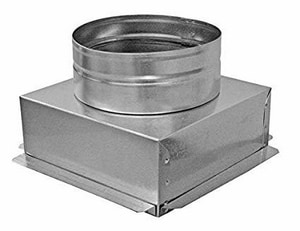 4 in Duct Square-To-Round SHMIBGTOR610PUU